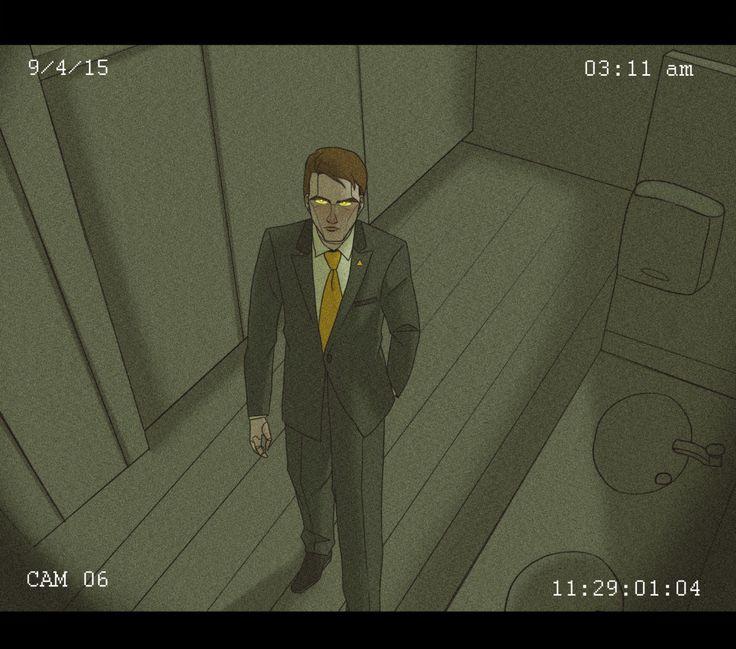 Daniel of StrexCorp being creepy (by videntefernandez) #NightVale
