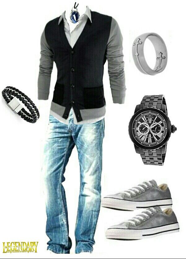 Men's casual outfit. Definitely something I own!!