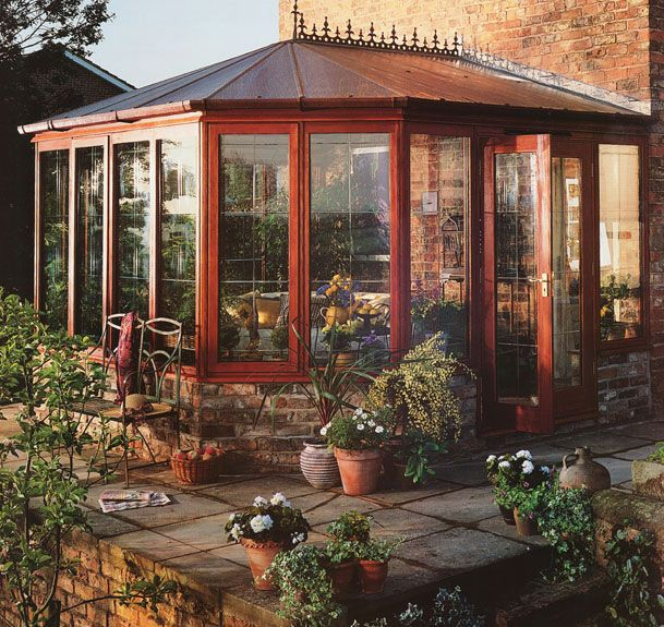 House Additions Ideas A Sunroom Over The Ravine: 73 Best Sunrooms Images On Pinterest
