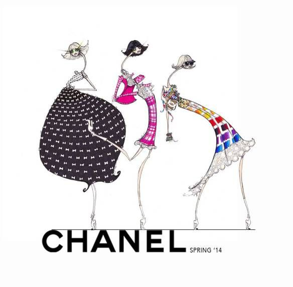 Jamie Lee Reardin: Chanel Spring RTW 2014