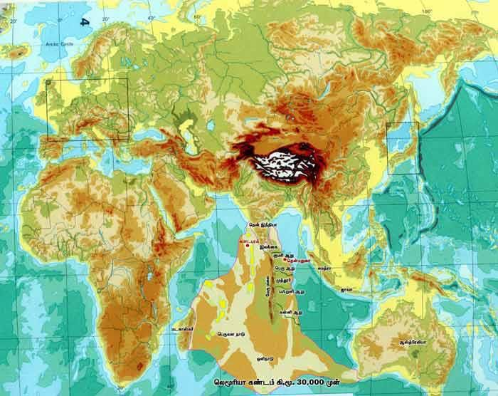 The lost continent of Kumari land: home of humanity? -Europeans are more closely related to Indians than Africans