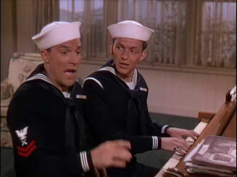 Anchors Aweigh (1945) - If You Knew Susie - Gene Kelly and Frank Sinatra. Too bad these guys only made three movies together... what a team they were!
