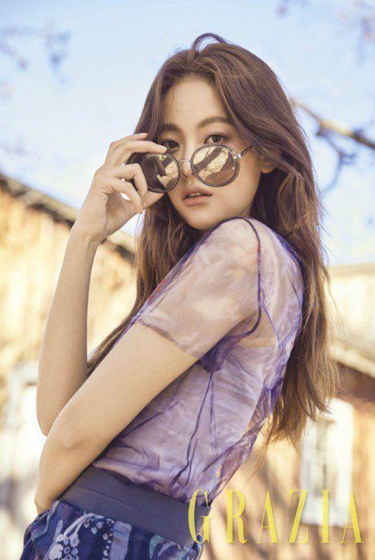 'Grazia' magazine revealed more photos of actress Oh Yeon Seo on March 20.   Koogle TV