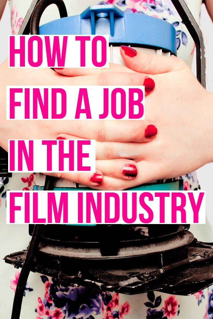 An article explaining how to find work in the film industry (and free guides on…