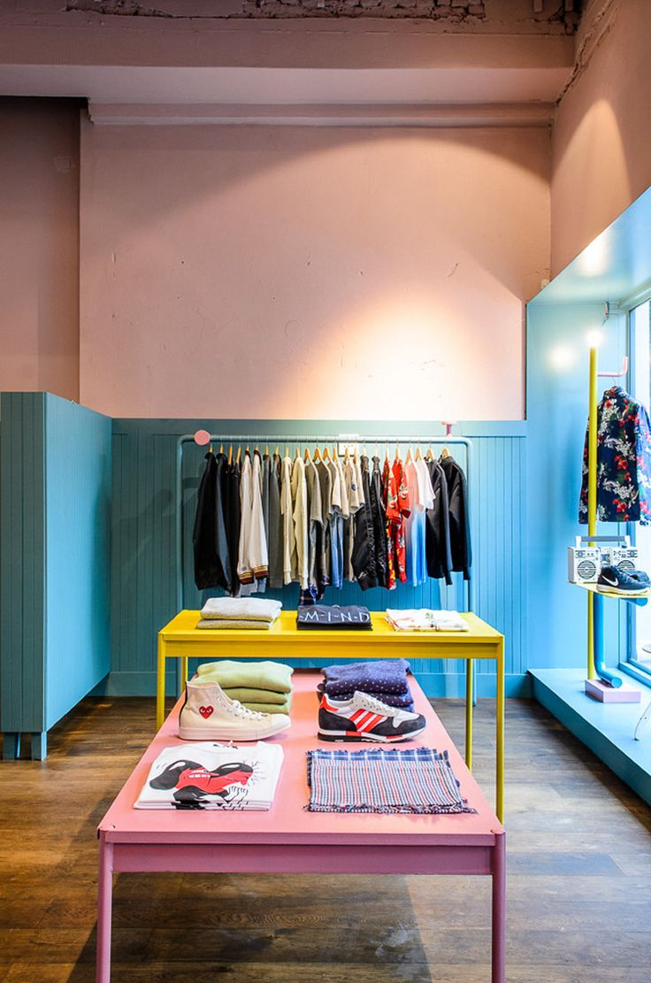 Compact Mens Clothing Store Makes A Big Statement Interior DesignStore