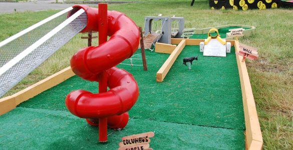 Minigolf Course 2009 - FIGMENT NYC