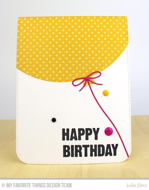 Birthday Chalkboard Greetings, Blueprints 26 Die-namics - Julie Dinn  #mftstamps