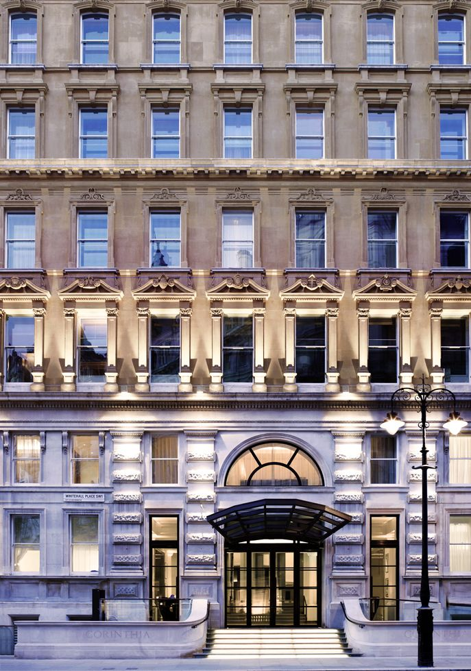 Whitehall entrance Corinthia Hotel London