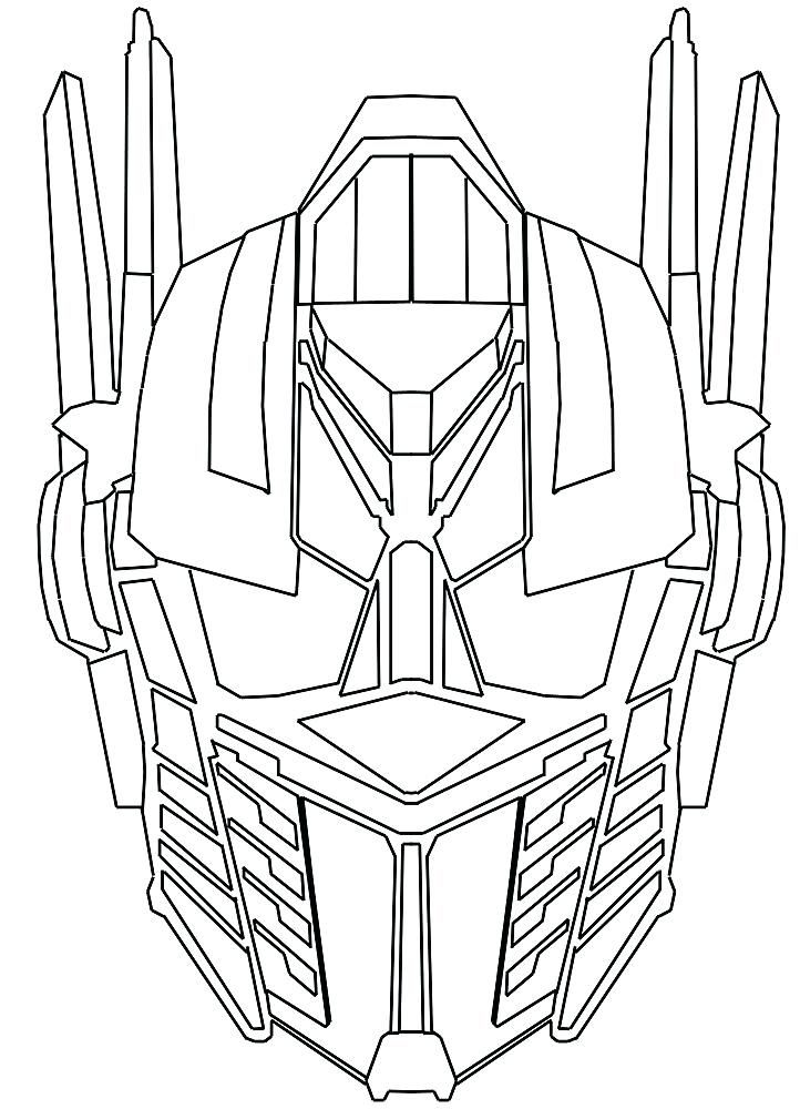 Optimus Prime Coloring Pages | Movies and TV Show Coloring Pages ...