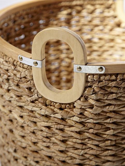 Woven Seagrass Basket. #serenaandlily