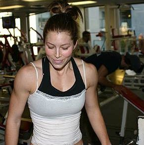 Jessica Biel's Fitness Routine.  i would do anything she does.  Her body is perfect!!  not to skinny, tone, and curves in all the right spots!!