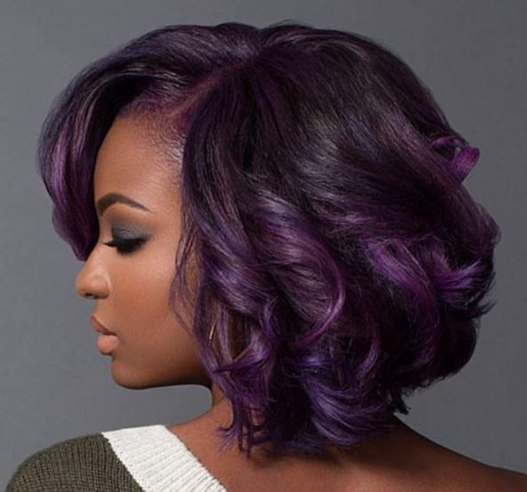 Purple And Fab! With @macleantemu - http://community.blackhairinformation.com/hairstyle-gallery/relaxed-hairstyles/purple-and-fab-with-macleantemu/