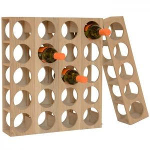 Scandinavian Design, Wine-O Rack, Might be great for the cupboard in the kitchen.
