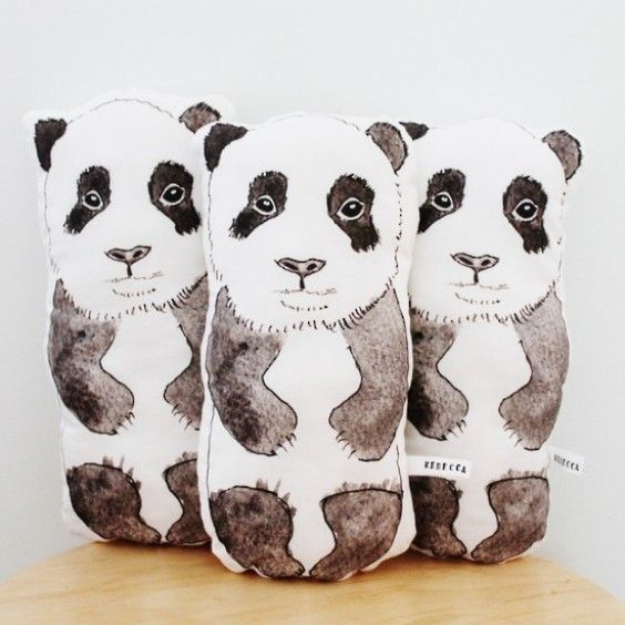 Rebecca Kiff Panda Softie - Rebecca Kiff - Shop by Brand - Ragamuffins New Zealand