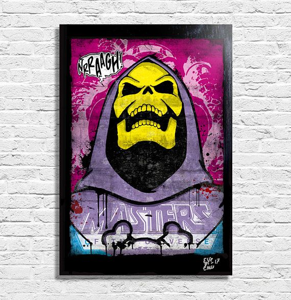 Skeletor from He-Man and the Masters of the Universe