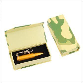 """Подарочная картонная коробка для USB флешки накопителя """"Патрон АК-47"""", с камуфляжной окраской — купить оптом в Москве по цене 131,67 руб."""