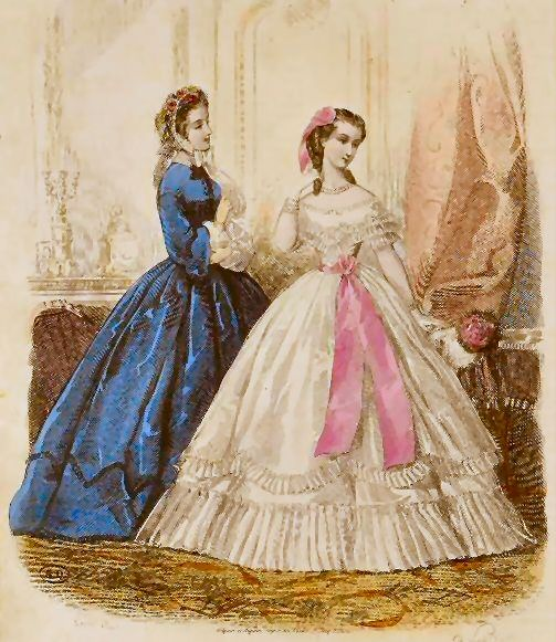 Fashion plate from 1862!