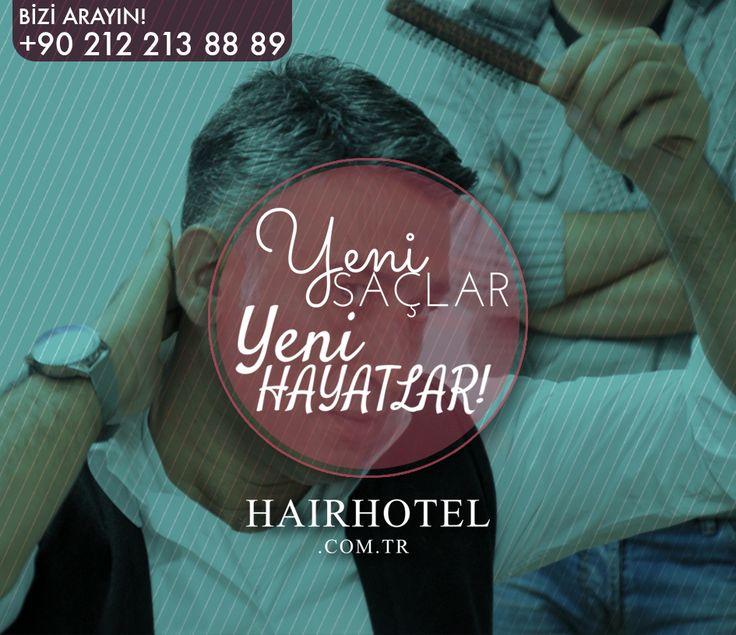 Hairhotel ile yeni saçlar, yeni hayatlar...