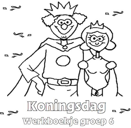 Koningsdag Werkboekje Groep 6