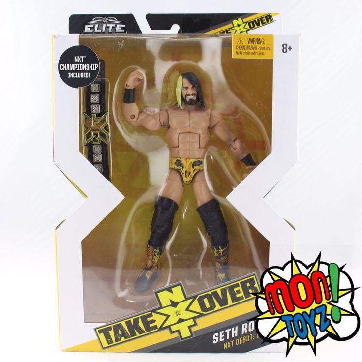 WWE Mattel Elite Target NXT Wrestling Figure Seth Rollins RARE NEW IN HAND   | eBay
