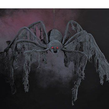 halloween props for sale cloth spider 4ft props halloween used new - Halloween Props For Sale
