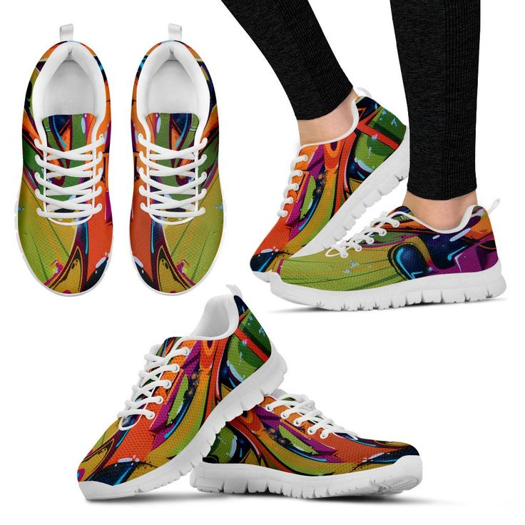 Mens & Womens Sneaker Shoes - Street Art – My Shopn