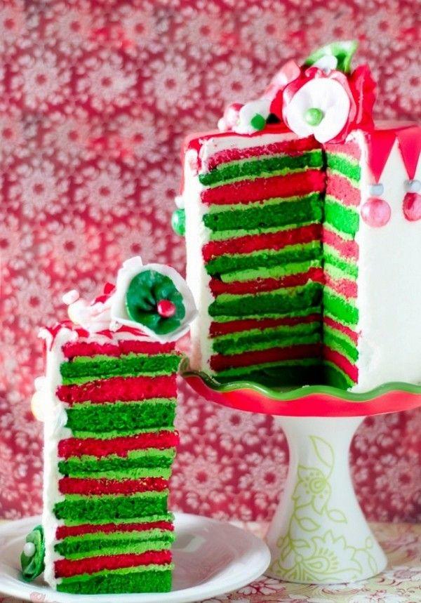 Red velvet cake christmas decorations Christmas photo ...