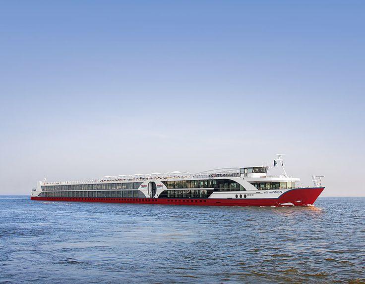 Die neue Art des Flussreisens: nickoVISION - Bildquelle: nicko cruises Flussreisen GmbH