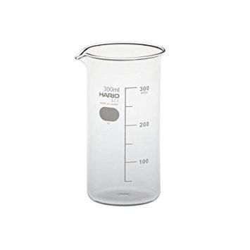 Hario have been producing high quality, beautifully crafted, heatproof laboratory glassware since 1921. Labware has introduced a new and anomalous way for the speciality coffee industry to brew, decant and serve. The Tall Beaker comes in 2 sizes, 300ml and 500ml, has a spout for pouring and is a perfect way to showcase pour over on any Brew Bar.