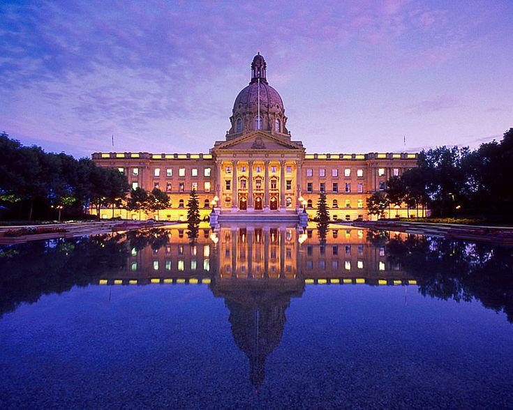 Edmonton Parliament Building.