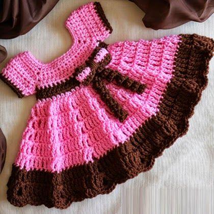Crochet+For+Children:+Sugar+N+Spice+Dress+(Free+Pattern)