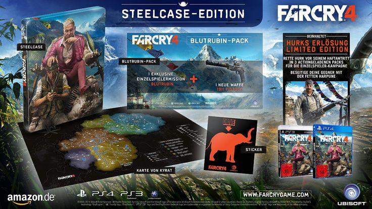 Far Cry 4 - Limited Edition - [Playstation 4]: Amazon.de: Games