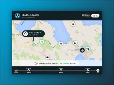 Area360 Shuttle Locator Concept - Final Iteration