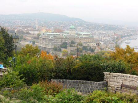 Vue depuis la colline de Buda