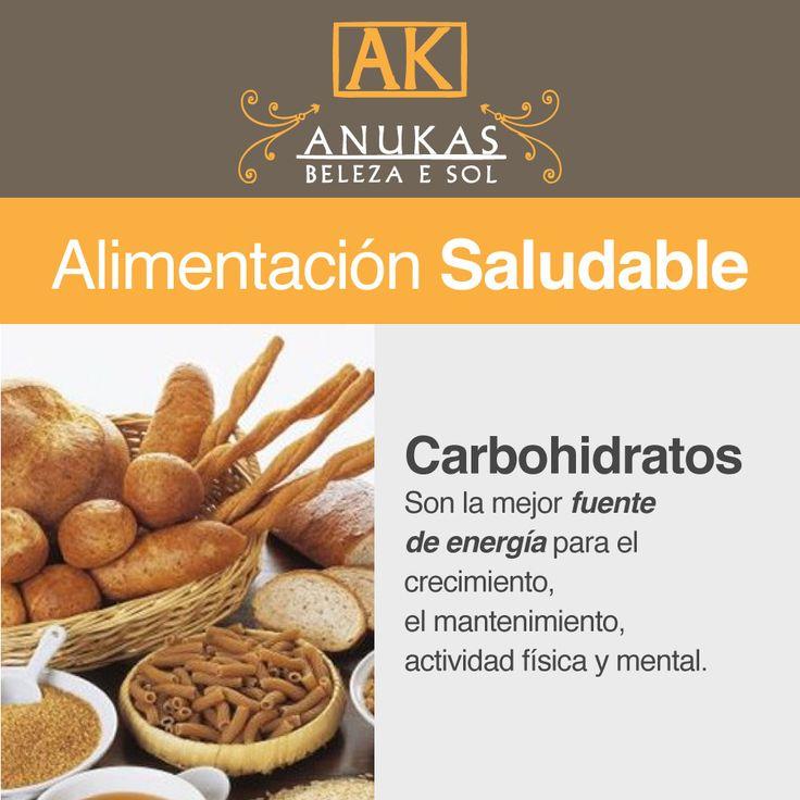 #Alimentación Saludable Carbohidratos...