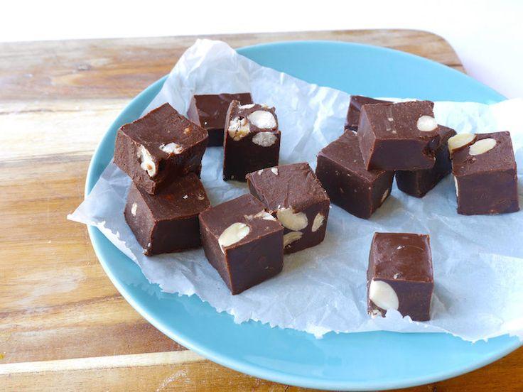 Skinny Six: Healthy chocoladefudge | Chickslovefood.com