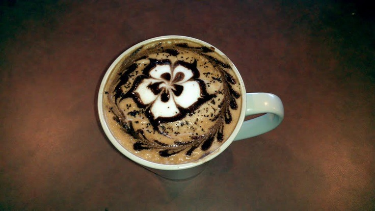 This might just be the best looking cuppa coffee I've ever seen. Via @Sweet City Desserts in Vienna, VA http://sweetcitydesserts.net/