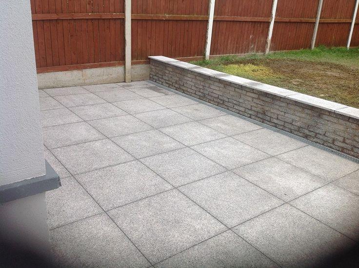 Slate Patio Slabs >> Silver Grey Granite Machine-Cut Flamed Patio Pack A – Stone Merchant | Paving slabs | Granite ...