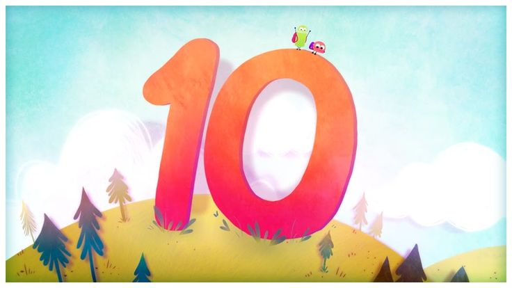 """The Number 10"", Number Songs by StoryBots"