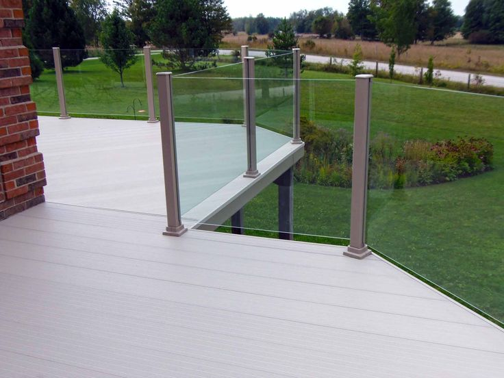 Aluminum Decking And Glass Railing By www.KBSunspaces.com