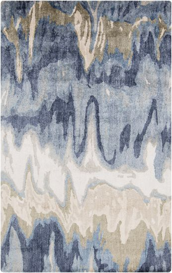 Inspired by marbling GMN-4021: Surya | Rugs, Pillows, Art, Accent Furniture