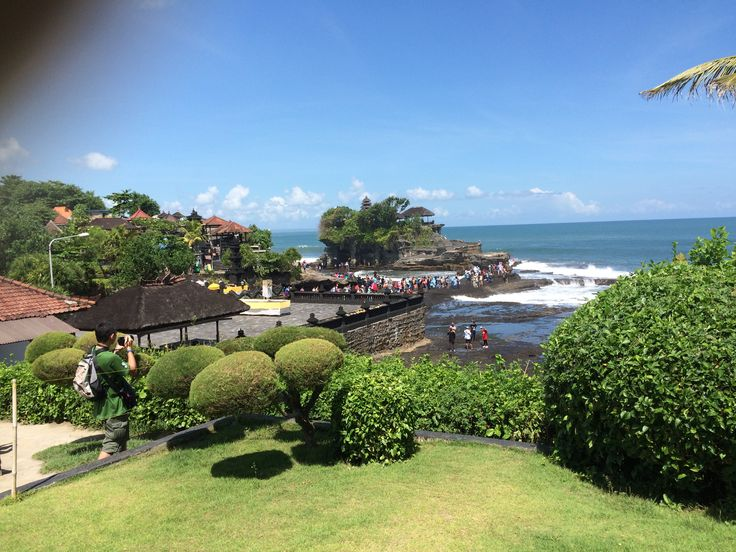 Tanah Lot in the distance