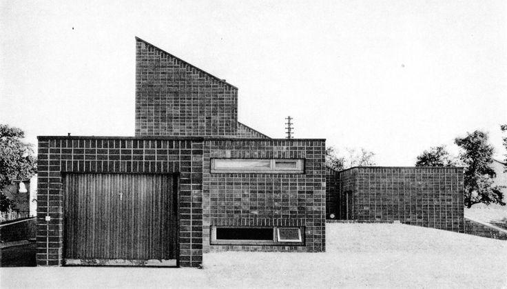 Haus Steimel, Hennef, Germany, 1961 (O.M. Ungers)