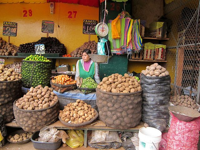 Mercado, San Juan Miraflores, Lima, Peru by motoperu, via Flickr