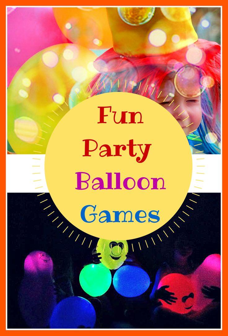 Montessori Nature: Fun Party Balloon Games.