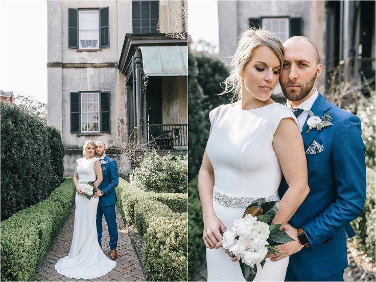 Anne Michael Real Wedding Harper Fowlkes House Savannah