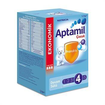 Aptamil 4 Çocuk Sütü (Toz) 1200 Gr