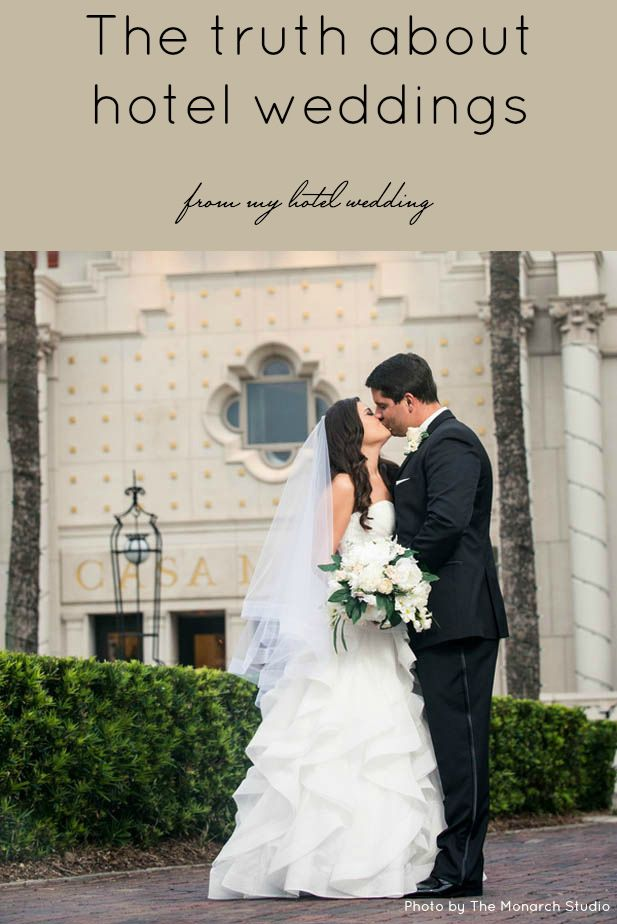 There are so many myths out there surrounding hotel weddings! Get the facts in this post.