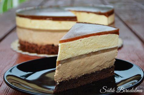 Nagyon szeretjük a mousse tortát, és igyekeztem valami különlegeset kitalálni, így megalkottam ezt a kávés tortát!:) Hozzávalók (2...