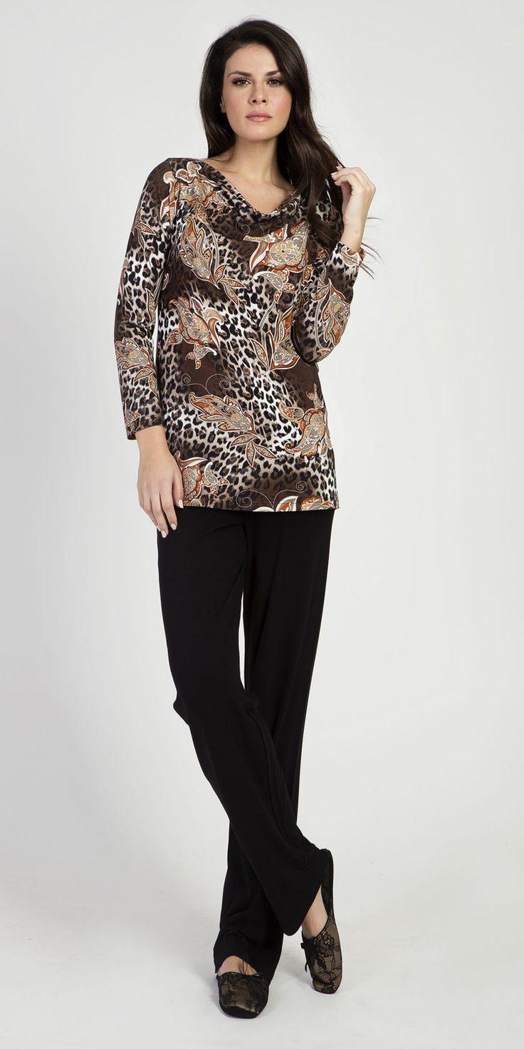 Pyjamas 95% Viscose 5% Elastane | Loungewear| Vamp! Pyjamas 95% Viscose 5% Elastane 5315